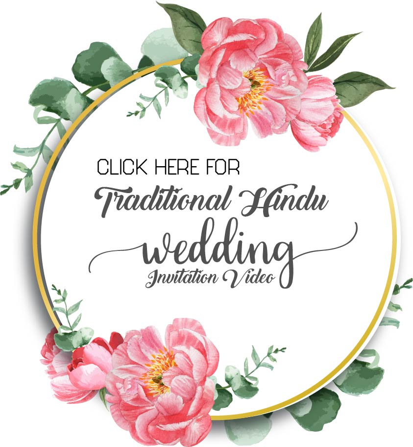 Traditional Wedding Invitation Video